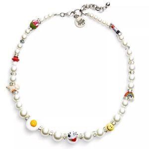 Venessa Arizaga Rainbow Dreams Pearl Necklace